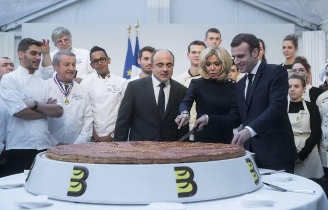 Galette des rois: «Beaucoup trop» de Français oublient le «sens de l'effort»... Macron en profite pour lancer une pique