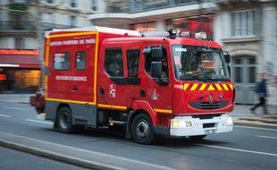 Image d'illustration d'une camion de sapeurs-pompiers.