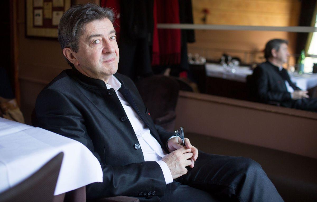 Jean-Luc Melenchon le 16 février à Paris. – SIPA