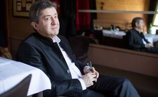 Jean-Luc Melenchon le 16 février à Paris.
