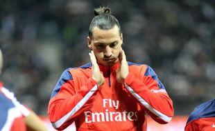Zlatan Ibrahimovic, le 28 mars 2014 à Nice.