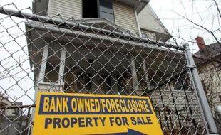 Une maison saisie et à vendre aux Etats-Unis (Illustration)