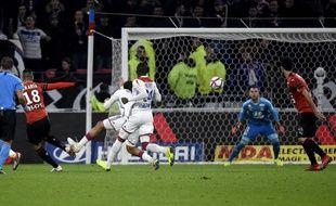 Hatem Ben Arfa a été décisif ce mercredi contre son club formateur, à l'image de ce superbe but.