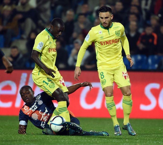 Youssouf Sabaly et son ami, Adrien Thomasson, sous le maillot du FC Nantes.