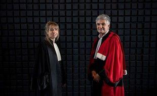 Les avocats généraux Charlotte Gazzera et Stephane Cantero