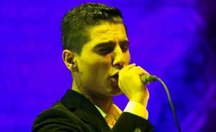"""Véritable phénomènedevenu symbole d'unitéentre Palestiniens de Gaza et Cisjordanie,levainqueur du concours de chant panarabe """"Arab Idol""""Mohammed Assafa électrifié la foule dimanche soir à La Hayepour son premier concert en dehors du Moyen-Orient et de l'Afrique du Nord."""