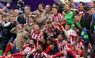 Grâce à sa victoire à Valladolid, l'Atlético de Madrid a remporté le 22 mai 2021 son premier titre de champion d'Espagne depuis 2014.