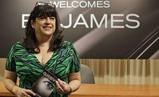 E.L. James,  lors de la sortie américaine de «Grey» le 18 juin 2015.