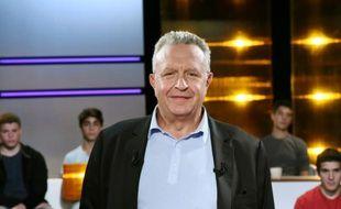 Le directeur de l'information de France Télévisions Michel Field, le 11 septembre 2014 à Saint-Denis près de Paris
