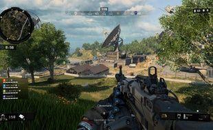 Une aire de jeu très vaste qui change des cartes ramassées de Call of Duty.