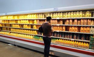 Il est déjà recommandé de boire moins d'un verre de jus de fruit par jour.