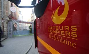 Illustration de l'intervention des pompiers.