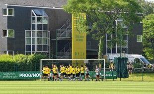 Le centre d'entraînement de la la Jonelière.