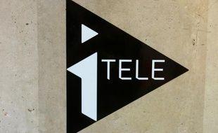 le logo d'iTELE, le 31 janvier 2011