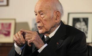 L'ancien président Valéry Giscard d'Estaing le 30 janvier 2020.