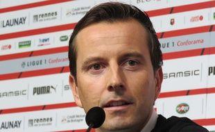 Remplaçant Sabri Lamouchi, Julien Stéphan a été présenté à la presse ce mardi midi.