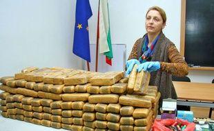 Le 12 novembre 2014, la police bulgare avait saisi 112 kg d'héroïne à la frontière.