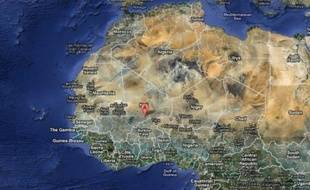 La ville d'Hombori, au Mali, où ont été enlevés deux géologues français, le 24 novembre 2011.