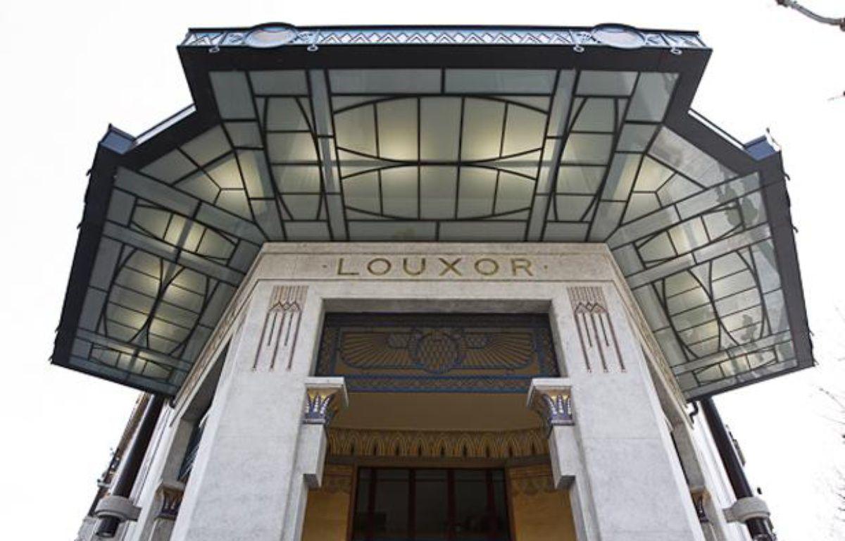 Le Louxor, cinéma néo-égyptien rouvre ses portes jeudi 18 avril 2013. – A. GELEBART / 20 MINUTES
