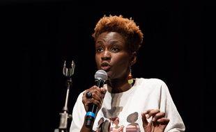 Rokhaya Diallo, à Paris le 26 octobre 2018.