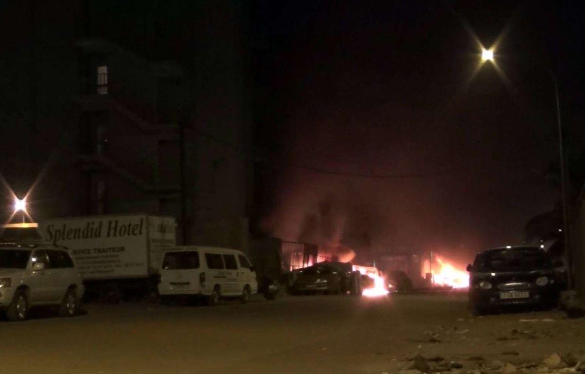 L'hôtel Splendid à Ouagadougou, au Burkina Faso, a été attaqué par des djihadistes le 15 janvier 2016. – AP/SIPA