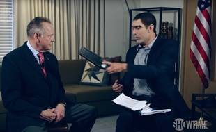 Sacha Baron Cohen piège l'ancien candidat républicain Roy Moore dans l'émission «Who is America» diffusée le 29 juillet 2018.