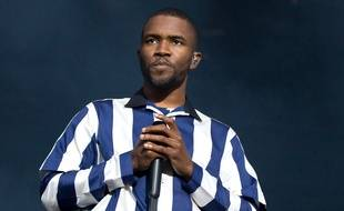 Le rappeur Frank Ocean au Bravalla Festival en Suède
