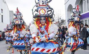 Le carnaval d'Alost, en Belgique, en février 2018.