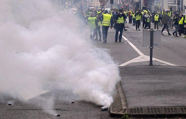 «Gilets jaunes» à Lille: Au moins dix interpellations lors de la 67e manifestation de samedi