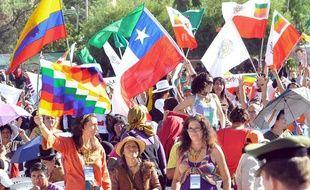 La Conférence mondiale des peuples sur le changement climatique s'est tenue du 20 au 22 Avril 2010 à Cochabamba, en Bolivie.