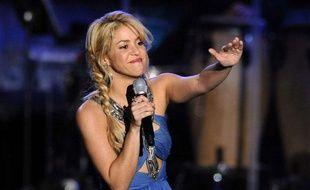 Shakira à Las Vegas, le 9 novembre 2011.