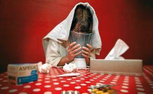 """Selon le docteur Bernard Fontaine, """"la grippe devient un risque professionnel lorsqu'il y a un net sur-risque."""""""