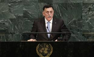 Le chef du gouvernement d'union en Libye, Fayez al-Sarraj, reconnu par la communauté internationale.