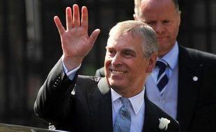 Le prince Andrew, le 30 juillet 2011 à Edimbourg