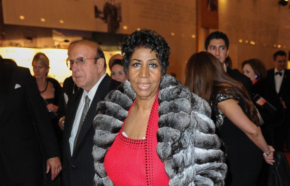 La chanteuse soul Aretha Franklin à Washington – WENN