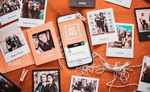 L'application PixPax promet des tirages photo gratuits.