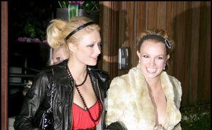 L'héritière Paris Hilton et la chanteuse Britney Spears lors d'une sortie mémorable en 2006 à Hollywood