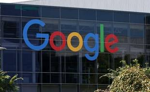 Le logo de Google, le 2 septembre 2015 à Mountain View, en Californie