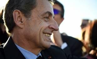 Nicolas Sarkozy au zoo de Beauval, le 22 novembre 2017.