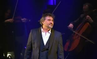 Le chanteur Daniel Lévi.