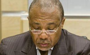 Charles Taylor jugé pour 11 crimes au tribunal de la Haye, le 13 juillet 2009