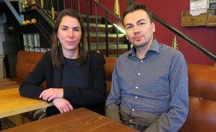 Julie Laernoes et Florian Le Teuff, le 10 janvier 2020 à Nantes.