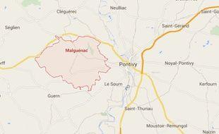 Le drame s'est déroulé samedi en fin de matinée à Malguénac dans le Morbihan.