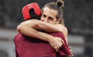 L'Italien Gianmarco Tamberi et le Qatari  Mutaz Barshim ont décidé de partager l'or en finale du saut en hauteur.