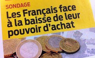 Le magazine «60 millions de consommateurs» publie dans son édition de mai 2013 une enquête sur les Français et leur pouvoir d'achat.