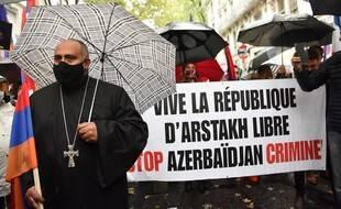 Une manifestation pro-arménienne a eu lieu vendredi à Lyon.
