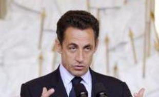 Nicolas Sarkozy a souhaité que la proposition de loi du Nouveau centre (NC), visant à le faire bénéficier d'un financement public, ne soit pas réexaminée à l'Assemblée, mardi lors d'un petit déjeuner avec les responsables de la majorité, a indiqué l'un d'eux à l'AFP.
