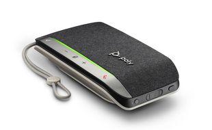 Le Sync 20 de Poly est un speakerphone nomade avec 20 heures d'autonomie en conversation.