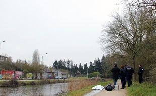 Un corps sans vie a été retrouvé lundi 9 mars 2015 dans l'Ille à Rennes.