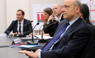 Alain Juppé le 23 janvier 2014 à Bordeaux